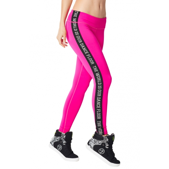 Leggings Da Bass Perfect Różowe