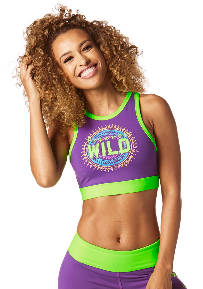 f8540428c8 Top Forever Wild Fioletowy