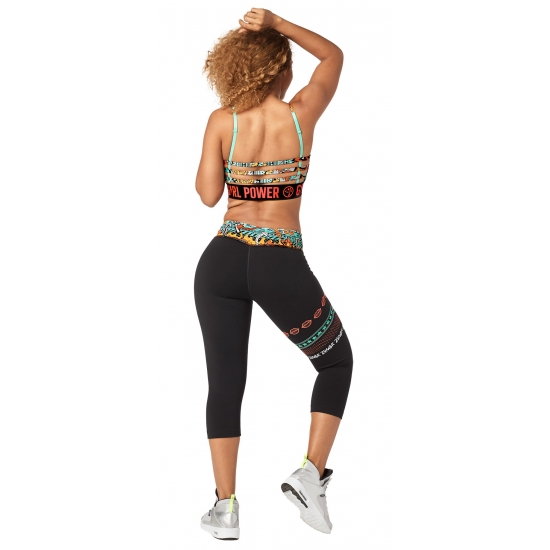 Legings Zumba Power Capri Czarne
